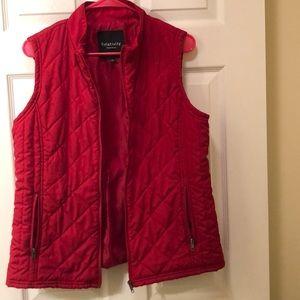 Red vest!